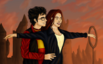 Lily and James goes Titanic by Samifery