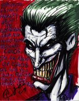 Joker's Chaos Theory by Artassassin