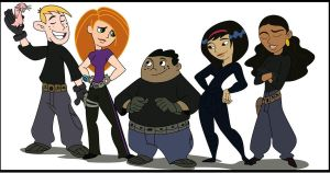 Kim Possible the rest of the gang by gelseyc-A