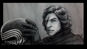 Star Wars - Kylo Ren : I'll keep an eye on him by deviantetienne