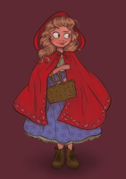 Little Red Riding Hood by DylanBonner
