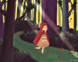 Little Red Riding Hood by Abstractmeow