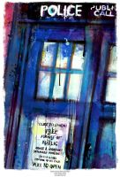 Tardis (Doctor Who collection) by j2Artist