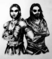 Vilkas and Farkas by HazieAsh