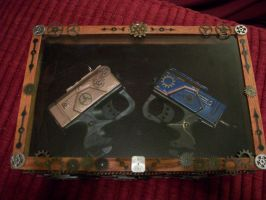 Dueling Pistols in case closed by Frost-Claw-Studios