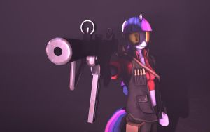 Badass Twilight Sparkle Wallpaper by NMaster90