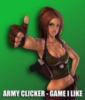 Army Clicker - Game I Like - Promotional Image by ArmyClicker