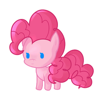 Blinking PinkiePie by DarkWereKitty