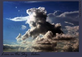 Lion in the Sky - Aslan by MORMULLINS