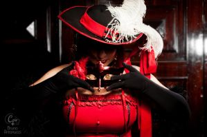 The Hidden me:. Madam red by areka-san