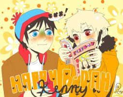 Happy Birthday Kenny 2012 by PaperPlatePhace