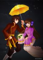 Hetalia_Taiwan and HongKong by WestWindBelow