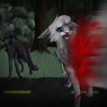Snowfur's death by shadowfeather01
