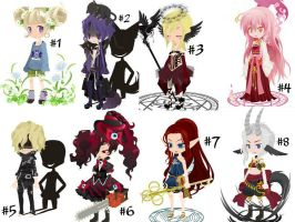 Adoptables : Offer To Adopt (4 Slots Open)~ by Lovepiko