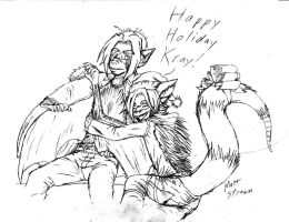 Happy Holiday Kray by Faullyn