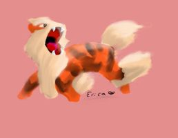 Arcanine by xMissLovelessx