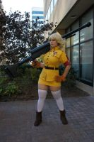 Eurobeat King- AUSA- Seras 5 by DustbunnyCosplay