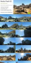 Unity : Rocks Pack 02 by Nobiax