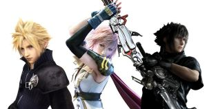 Cloud Strife, Lightning, Noctis Lucis Caelum by MR-ENERGYZONA