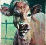 lil cow painting. by TunaMelon