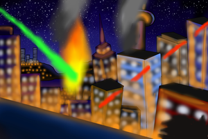 City Under Attack by JWthaMajestic