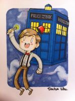 Doctor Who by yorusempai