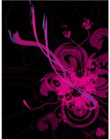 Pink and black by Ergal