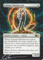 mtg Altered - Solemn Solar Flare by ClaarBar