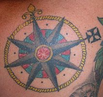 Compass Rose by dethzen