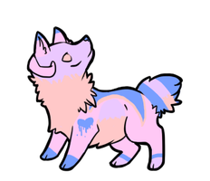 Cutom horn dog for LouiseLoo by dovepaw3000