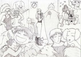 FMA Who doesn't like puppies? by KGX347