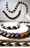Button Jewelry by NetherStray