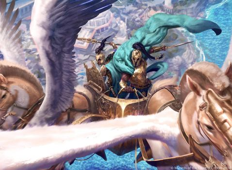 Dawnbringer Charioteers - Wizards of the Coast LLC by Ryan-Alexander-Lee
