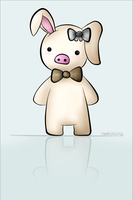 Pig Rabbit by hellohong