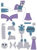 Maud Pie Papercraft by Grulaz