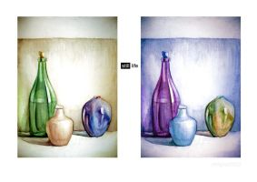 still life -changing hue by redgoat3003