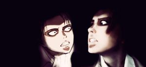 Rivaille Rivals by ievawwww