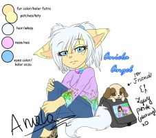 .::REF::. Aniela Angel by AngelSoleil21