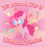 Party with Pinkie by MidnyteSketch