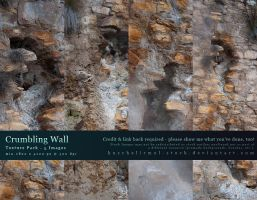 Crumbling Wall - Texture Pack by kuschelirmel-stock