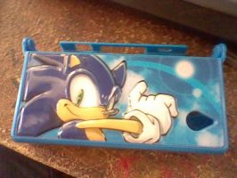 sonic DSI case by brianamcginnis