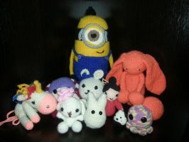My Knitted Toys(amigurumi) by Vampiano