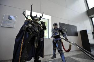 Kain and Golbez by Xemnass