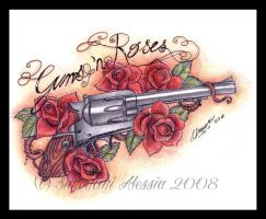 Guns 'n Roses by lvnanera