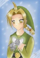-- Edo cosplaying Link -- by Kurama-chan