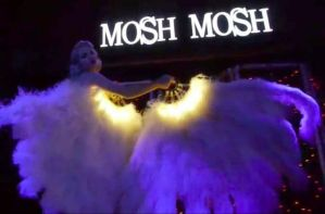 Glowing Fans for Miss Mosh by TimBakerFX