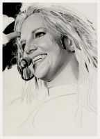 Britney Spears  WIP by Charlzton