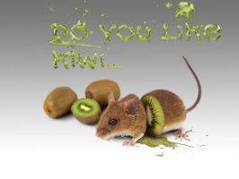 Kiwi mouse by paskoff