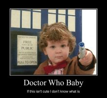 Doctor Who Baby by TheWorld-MyCaptivity