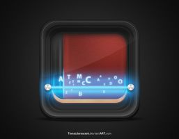 Book reader icon by TomasJanousek